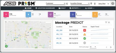 Sewer blockage prediction app